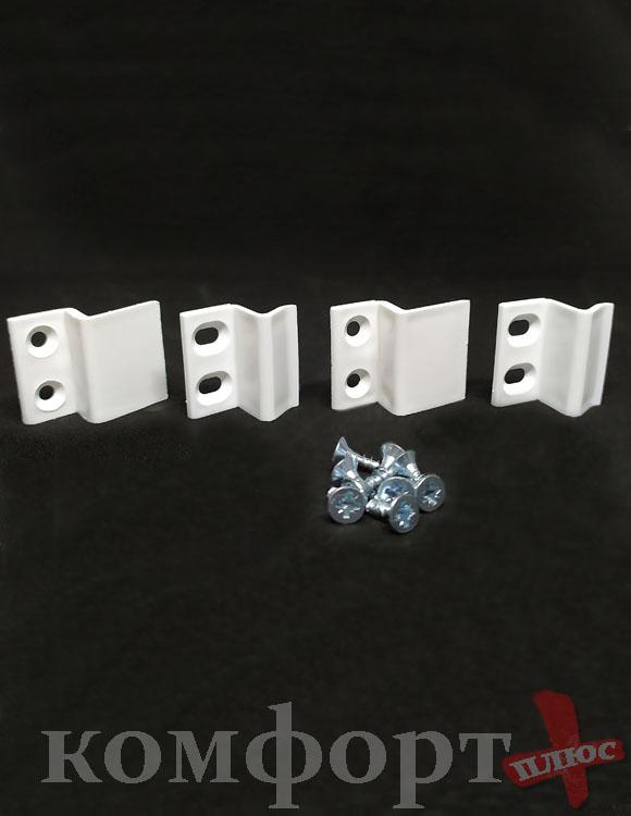Z-крепление для москитной сетки , белый