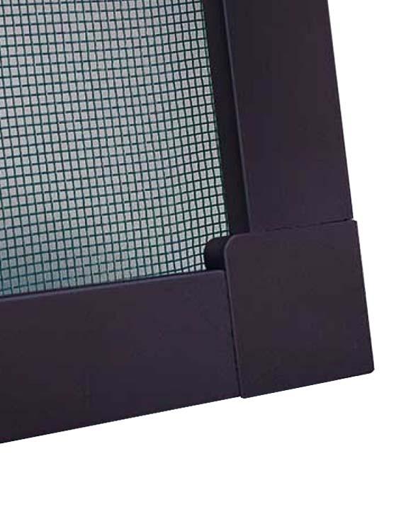 Москитная сетка Антикошка, рамка коричневая, стоимость за 1 м.кв