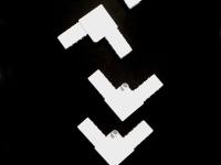 Уголок для профиля Москитной сетки белый 4 шт